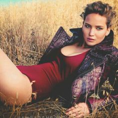 Jennifer lawrence- the outfit doesn't make a lot of sense, but she sure does look amazing in it.