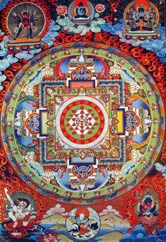 Shri Yantra Mandala - Inseprability