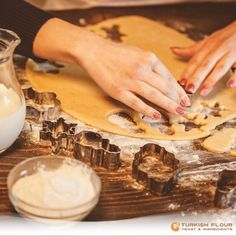 #BakingTips Use as little flour as possible when rolling out the dough. The dough can absorb extra flour, which will make it so tough.