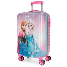 Maleta cabina Disney Frozen Dream of Magic Disney Frozen Birthday, Frozen Disney, Girly Bedroom Decor, Girls Luggage, Disney Luggage, Disney Princess Backpack, Henna Designs Feet, Kids Umbrellas, Frozen Merchandise