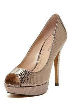 Pour La Victoire Angle Peep Toe Pump by Non Specific on @HauteLook
