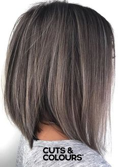 GREY bob | Cuts & Colours