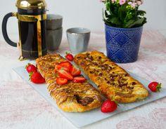 Smördegslängd med chokladfyllning - ZEINAS KITCHEN