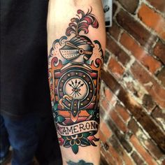 neo traditional style tattoo sleeve - Google Search