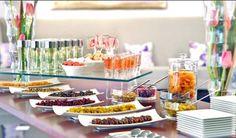 Glass Buffet table