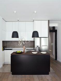 Paris Appartement - Picture gallery #architecture #interiordesign #kitchen
