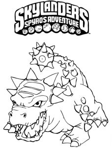 Skylanders Printable Colouring Pages If youre in the market