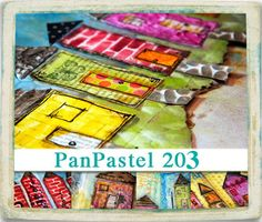 "VIDEO WORKSHOP: PanPastel 203  ""pretty little houses"""
