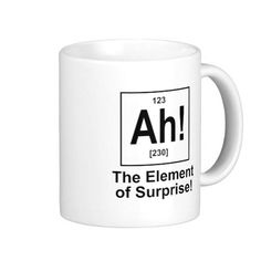 A new element for writers, performers, magicians and more!  What's in that coffee?