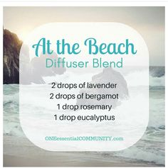 At the Beach Diffuser Blend