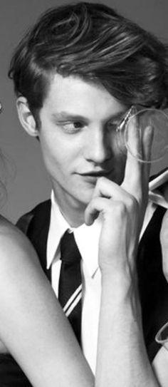 #MatthewHitt #Models #Fashionblog #Fashionblogger #Drownersband #Drowners #TBT #MattHitt for #Borsalino S/S 2010�gBc6