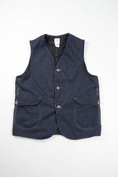 Post Overalls, Navy HB Tweed Royal Traveler Vest AW13