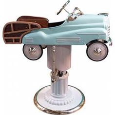 """Childs' Pedal Car Barber Chair """"Woodie"""""""