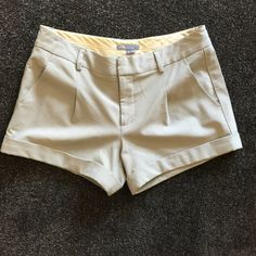 "Vince Dressy Shorts 4 By Vince. Like short dress pants. EUC. Waist 28"" Inseam 3"" From Nordstrom's Vince Shorts"