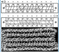 Long loom stitches to try! Meu Paraiso: Pontos Tear trico ( Pregos) - Retirados do Blog Arte Ponto e vida.