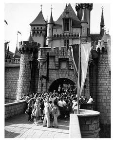 TBT: Opening day at Disneyland.