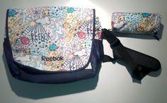 BANDOLERA + ESTUCHE REEBOK dibujos fantasía https://www.ebay.es/itm/152873923158  #BANDOLERA #bolso #reebok #cartoon #doodle #bag #bolsa #sport #estuche #case