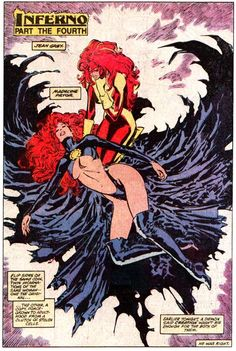 Jean Grey and Madelyne Pryor by Marc Silvestri