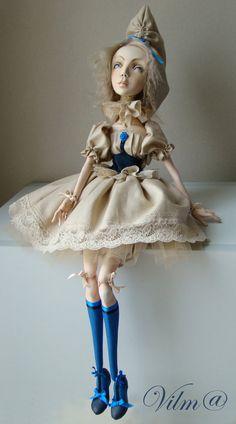 OOAK Art Doll Alice