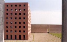 Aldo Rossi (Architect): Cemetary of San Cataldo, Modena, Italy (photo from ASCE)