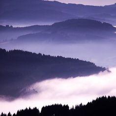 La brume à travers les monts ☁️ J'ai fait une belle balade avec ma famille, ca m'avait manqué d'être avec eux ET de faire de la photo de paysage ! Ce fut un Noël parfait ✨J'espère que vous avez passé une belle journée ☺️