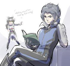 Blake and Mercury