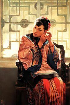 Jiang Guofang e suas mais belas pinturas   Pintura chinesa