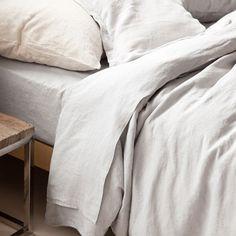 Grey linen bedlinen set - Bed Linen - Bedroom | Zara Home United Kingdom