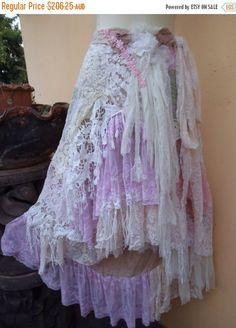 20% OFF wedding bohemian boho gypsy lagenlook OAK by wildskin
