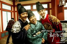 The Moon That Embraces the Sun - I LOVE the guy in green -- he's like my favorite character!!