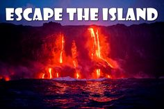 A great team building game! Escape the Island #stumin #teambuilding