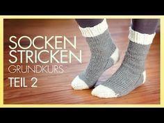 Socken stricken - Stricken lernen