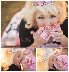Adult Birthday Cake Smash! -- Scottsboro, Alabama Natural Light Portrait Photographer — Lauren Bee