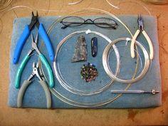 diy wire jewelry tutorials   Wire-wrapping tutorial! DIY wire wrap stones!   beading