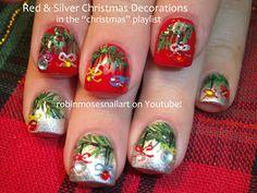 """Nail-art by Robin Moses: """"nail art"""" """"sexy christmas nails"""" """"christmas nail art"""" """"snowman nails"""" """"frosty nails"""" """"rudolph nail art"""" """"reindeer ..."""