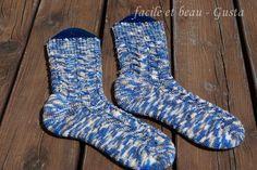 facile et beau - Gusta: Zick-Zack-Socken