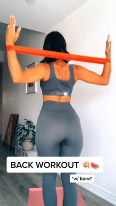 Fitness Workouts, Gym Workout Videos, Gym Workout For Beginners, Fitness Workout For Women, Body Fitness, Fitness Goals, At Home Workouts, Back Workouts, Monthly Workouts