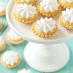 Crostatine di crema alla vaniglia e spuma al mascarpone