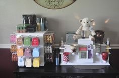 Michelle's Scentsy Display Stands.  Who wan'ts to make one for my scentsy products?  Great job, Michelle!!