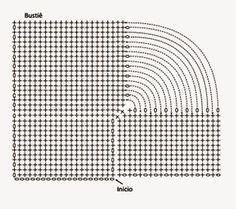 As Receitas de Crochê: Maiô ou body de crochê