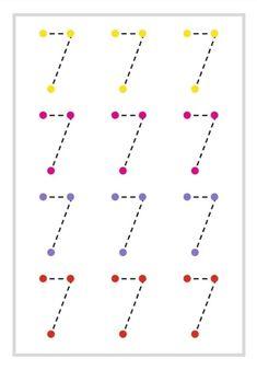 Kindergarten Homeschool Curriculum, Preschool Writing, Kindergarten Math Worksheets, Preschool Learning Activities, Preschool Lessons, Teaching Kids, Activities For 2 Year Olds Daycare, Kids Daycare, Math For Kids