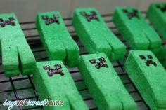 Marshmallow Creepers [Free Printable] [Recipe]