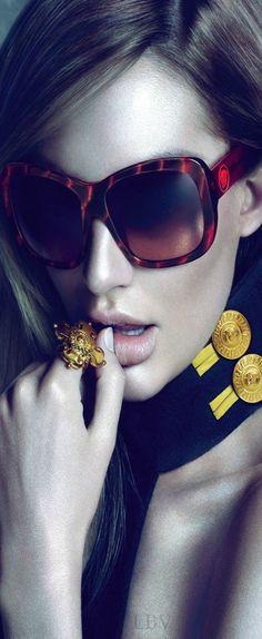 Candice Swanepoel for Versace Eyewear | LBV ♥✤