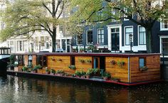 Canal Houseboat, Amsterdam | These little houseboats line al… | Flickr