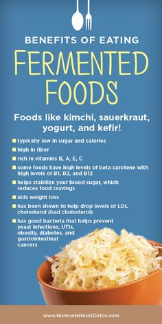Fermented foods have beneficial bacteria that contribute to improved GI (gut) health! Improve Gut Health, Beta Carotene, Fermented Foods, Sauerkraut, Kefir, Nutrition Tips, Autoimmune, Kimchi, Natural Remedies