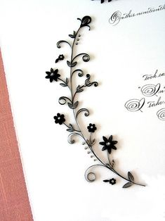 30 Examples of Quilled Wedding Invitations, Marriage Certificates, and Ketubahs