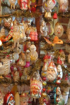 Antique Christmas Ornaments.