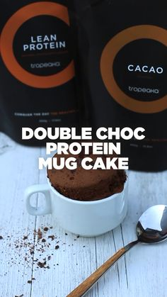 Savory magic cake with roasted peppers and tandoori - Clean Eating Snacks Protein Bites, Protein Shake Recipes, Protein Foods, Protein Desserts, Whey Protein, Vegan Mug Cakes, Protein Mug Cakes, Mug Cake Protein Powder, Healthy Chocolate Mug Cake