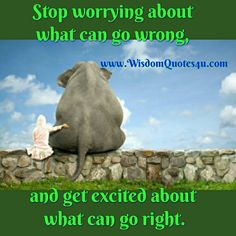Sometimes it gets to be a #habit to worry about the #negative so much you miss what's right in front of you. ~ #PatriciaRoulston
