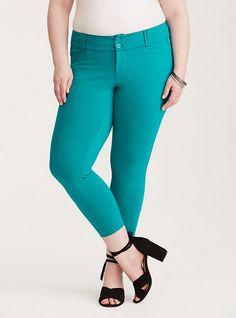 7b1178e24b9 Silver Jeans Co.® plus size Suki destructed crop jeans